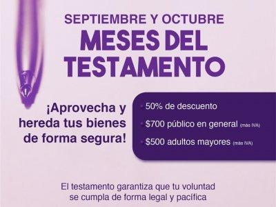 """<a href=""""/noticias/septiembre-y-octubre-meses-del-testamento"""">Septiembre y Octubre, Meses del Testamento. </a>"""