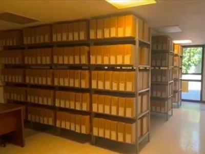 """<a href=""""/noticias/avanza-morelos-en-el-resguardo-y-conservacion-del-acervo-documental"""">Avanza Morelos en el resguardo y conservación del acervo documental</a>"""
