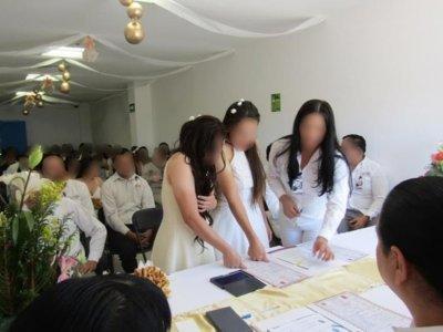 "<a href=""/noticias/realizan-con-exito-campana-de-matrimonios-en-cefereso-de-morelos"">Realizan con éxito campaña de matrimonios en CEFERESO de Morelos</a>"